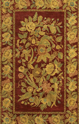 Transitional Rugs Veronassi Red