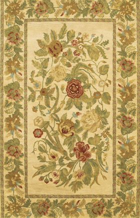 Transitional Rugs Veronassi Cream