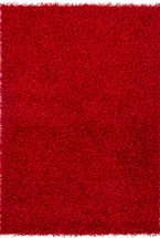 Solid Rugs Zarina Red