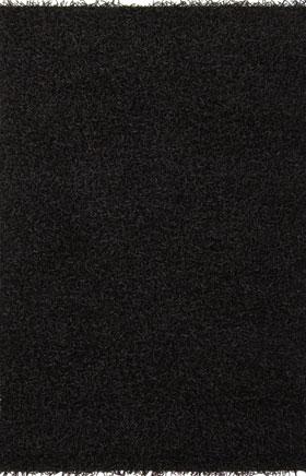Solid Rugs Zarina Black