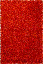 Solid Rugs Zarina Dark Orange