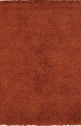 Solid Rugs Zarina Orange