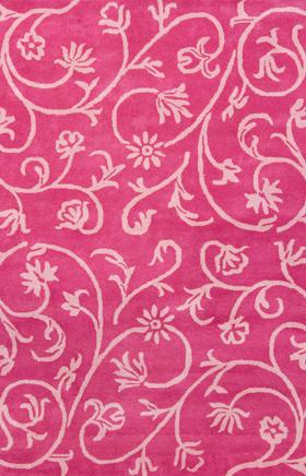Contemporary rug Sahara Sands Pink