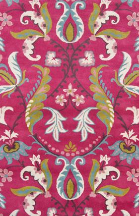 Floral rug Sahara Sands Pink