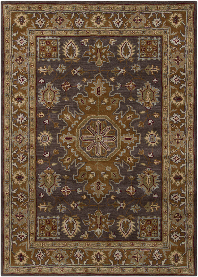 5 X7 Handtufted Brown Oriental Rugs For Discount At