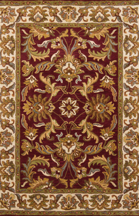 Traditional rug Sahara Sands Burgundy