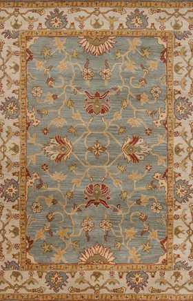 Gold Traditional Wool Area Rug 9 X13 At Rugsandblinds Com