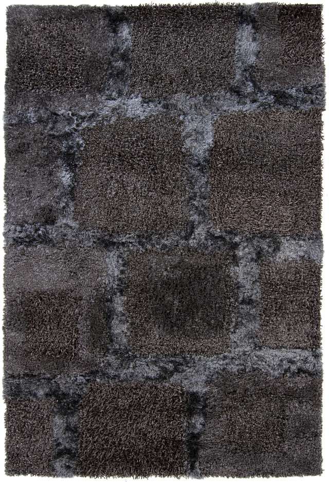 Shag Rugs Baj Grey Charcoal 7 9 Quot X 10 6 Quot Polyester At