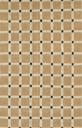 Braided Rugs Art Black and Brown
