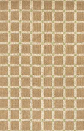 Braided Rugs Art Green and Brown