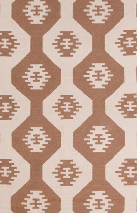 Southwestern Rugs Lima Brown and Beige