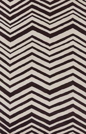 Transitional Rugs Davin Black and White