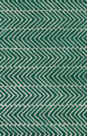 Transitional Rugs Davin Beige and Green