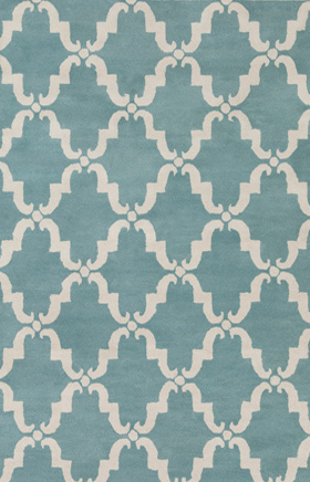 Transitional Rugs Davin Blue