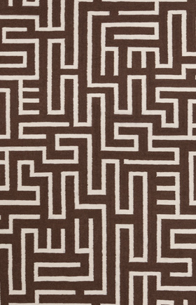 Transitional Rugs Lima Brown and Beige