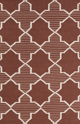 Transitional Rugs Lima Brown and White