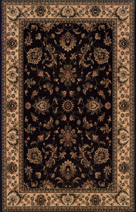 Oriental Rugs Ariana Black 11091