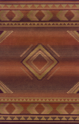 Southwestern Rugs Generations Red 11138