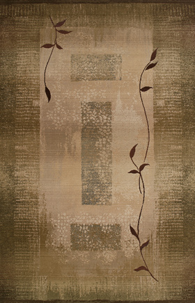 Transitional Rugs Generations Green 11154