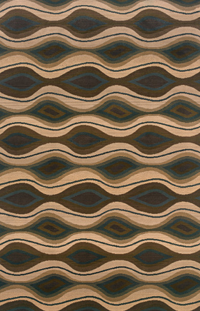 Contemporary Rugs  Odyssey Brown 11183