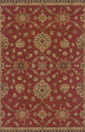 Traditional Rugs Nadira Orange 11269