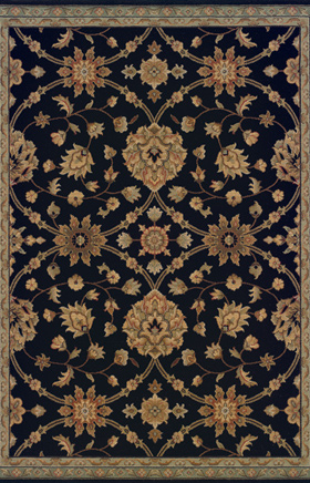 Traditional Rugs Nadira Black  11271