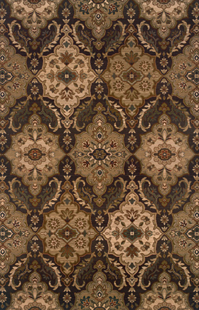 Traditional Rugs Odyssey Brown 11274