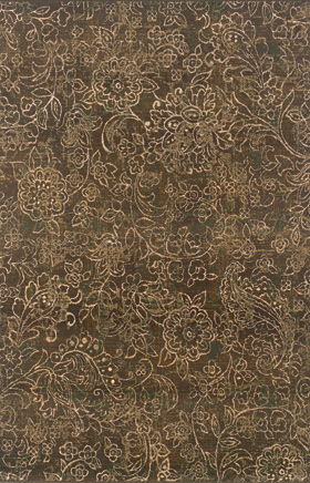 Transitional Rugs Odyssey Brown 11280