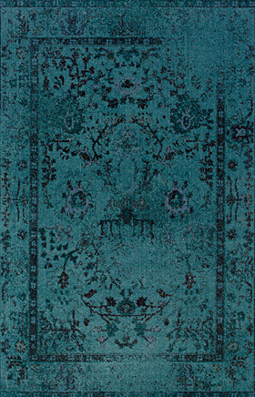 Transitional Rugs Revival Blue 11298
