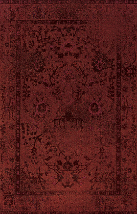 Transitional Rugs Revival Red 11299