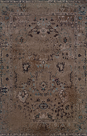 Transitional Rugs Revival Grey 11300