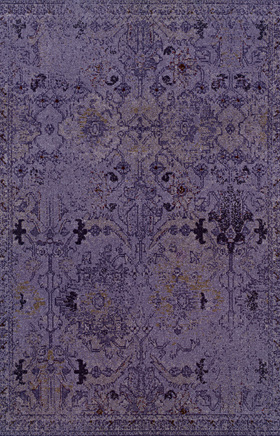 Transitional Rugs Revival Purple 11301