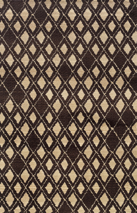 Contemporary Rugs  Marrakesh Brown 11448