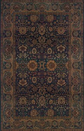 Oriental Rugs Kharma Blue 11505
