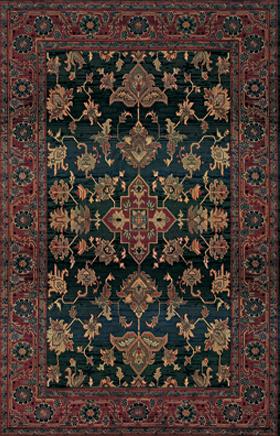 Oriental Rugs Kharma Blue 11508