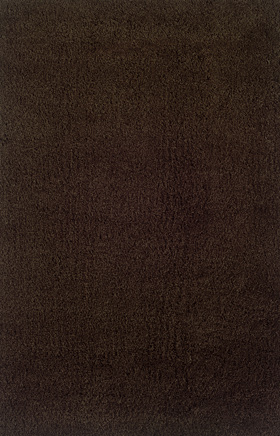 Shag Rugs Loft Collection Brown 11536