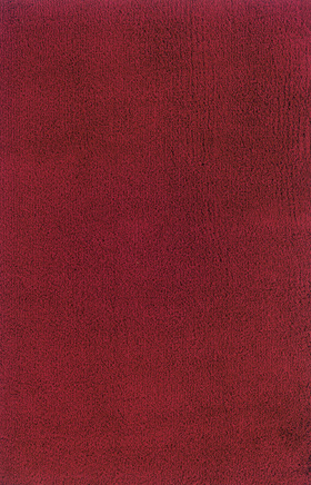 Shag Rugs Loft Collection Red 11539