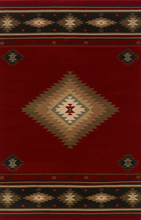Southwestern Rugs Hudson Red 11565