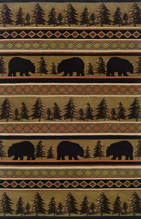 Southwestern Rugs Hudson Black 11567
