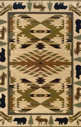 Southwestern Rugs Hudson Ivory 11569