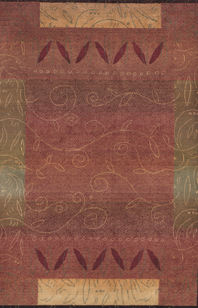 Traditional Rugs Kharma Red 11610