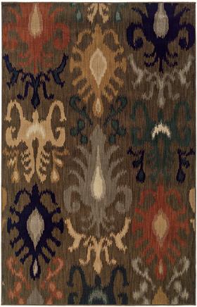 Transitional Rugs Kasbah Brown 11658