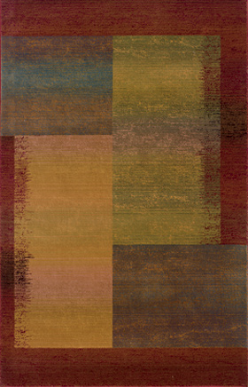 Transitional Rugs Kharma II Green 11662