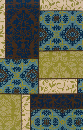 Contemporary Rugs Caspian Brown 11692