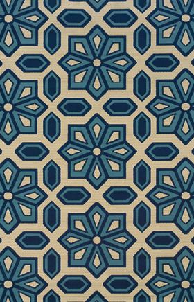 Contemporary Rugs Kharma Ivory 11696