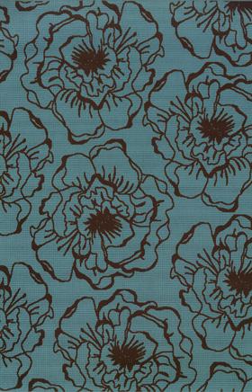 Floral Rugs Caspian Blue 11718