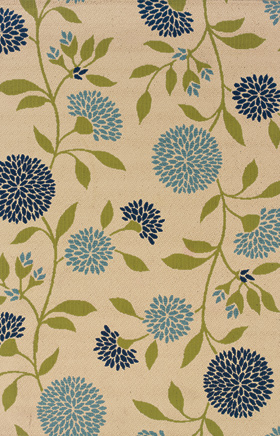 Floral Rugs Caspian Ivory 11722