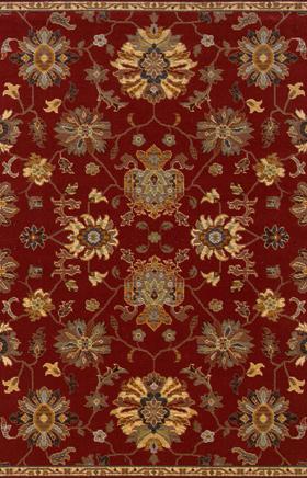 Oriental Rugs Ensley Red 11739