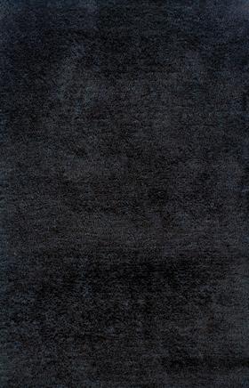 Shag Rugs Chloe Black 11743