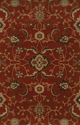 Traditional Rugs Casablanca Red 11751